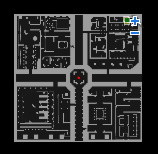 黒の封印のマップ