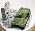 1/144 WTM TigerII最後期型 ベルリン戦 ヴィネット