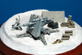 PanzerGraph誌 創刊号 1/144 WTM 88mm砲 ヴィネット作例