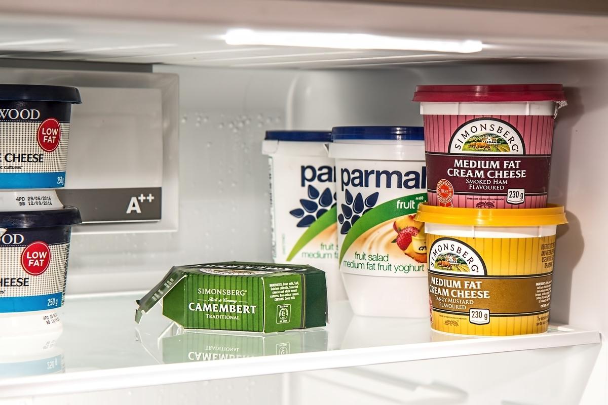 冷蔵庫の中のものもミニマルに