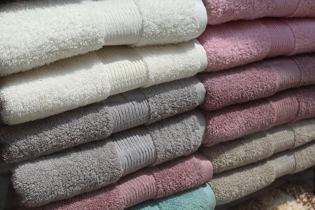 バスタオルとタオルの数を決める