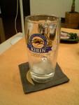 ビール(2口目)