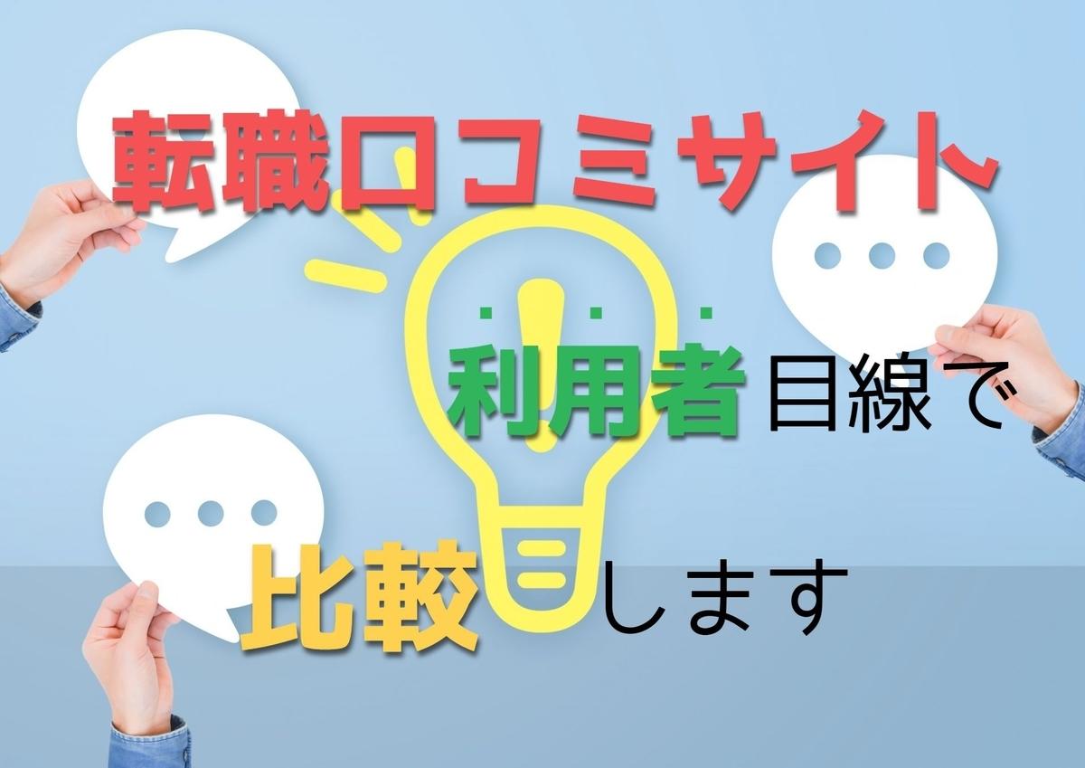 【会社の評判/Openwork/転職会議】口コミサイトを実際の利用者目線で比較します【事実】