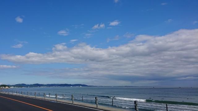 晴れた江の島