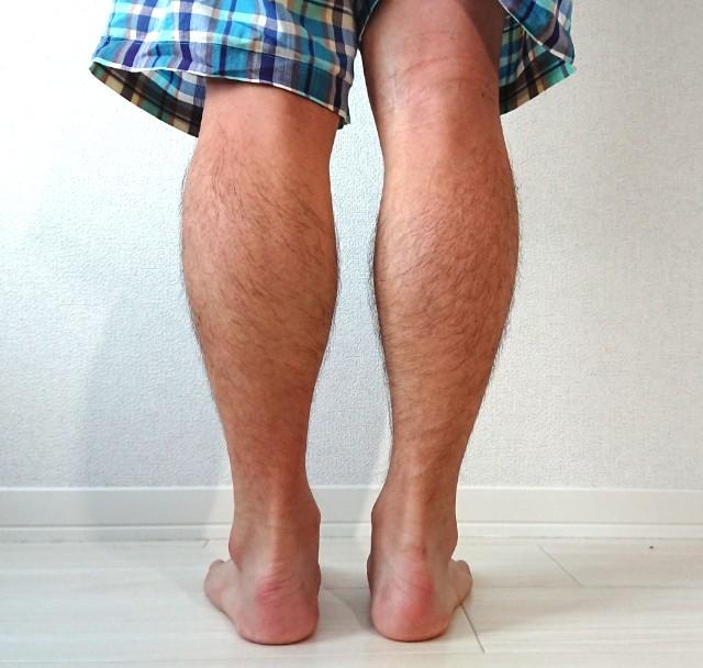 マッサージした後の足の太さの左右差