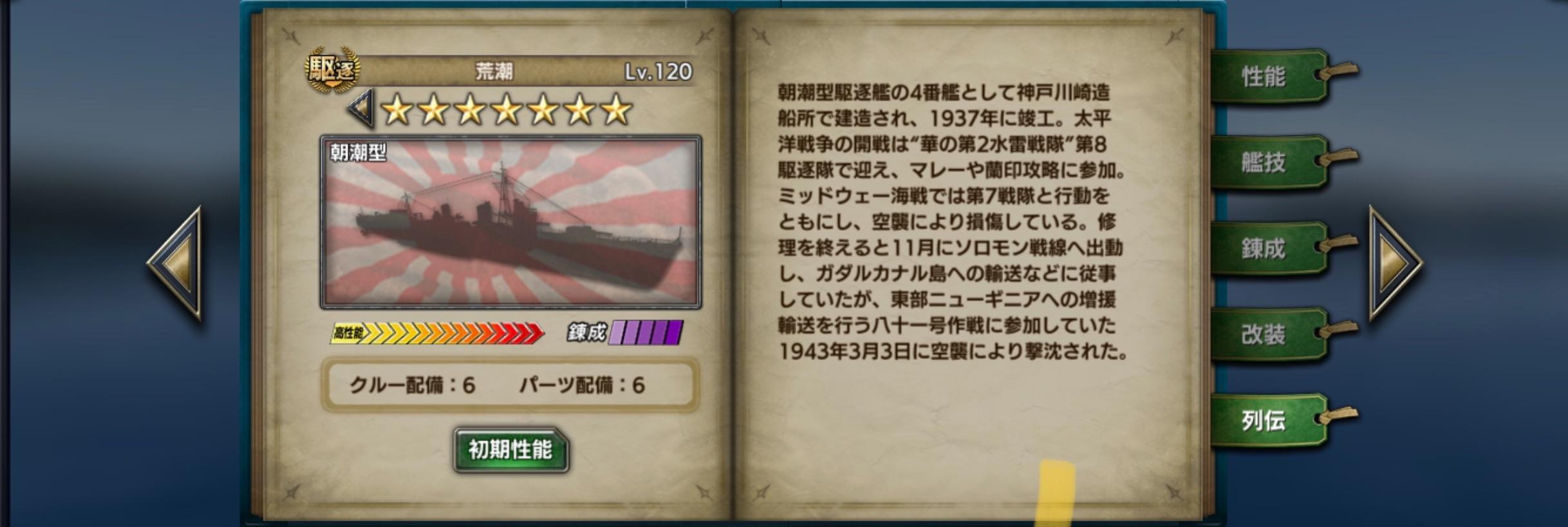 arashio-history
