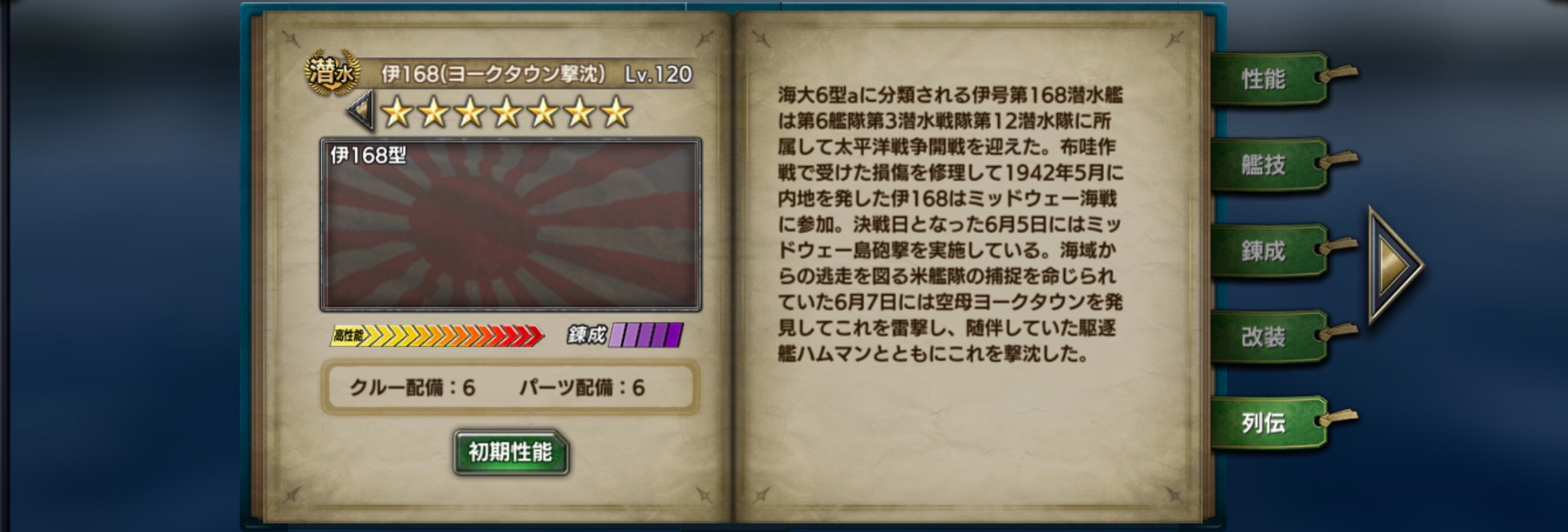 i168Y-history