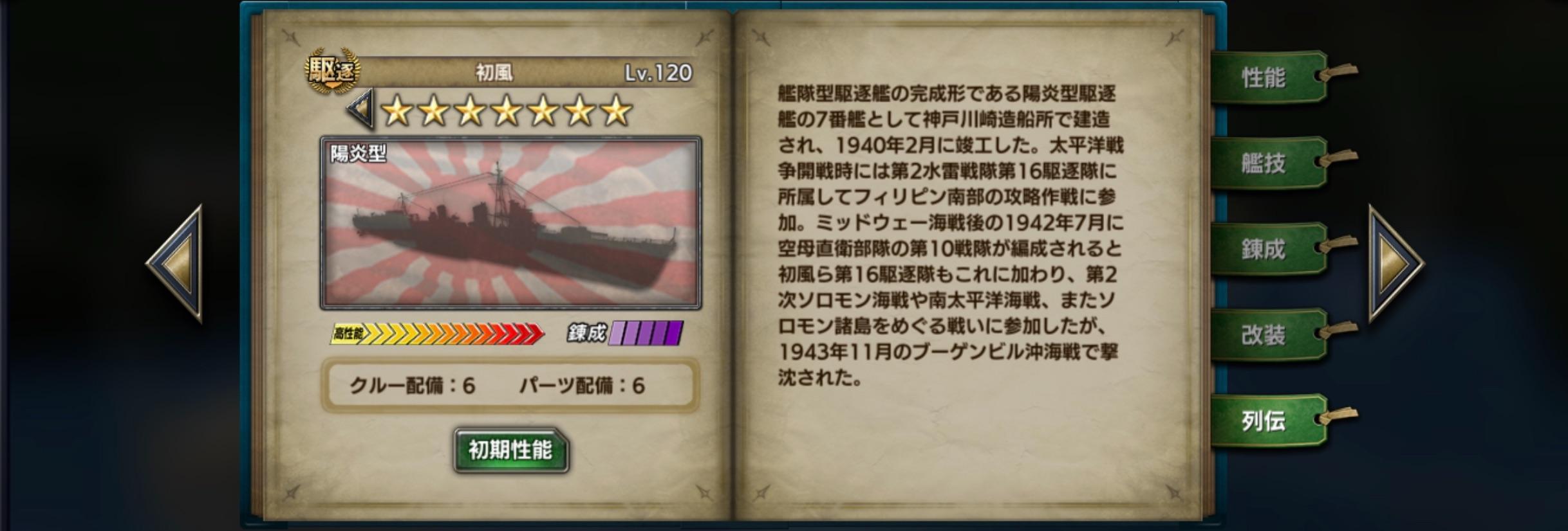 Hatsukaze-history