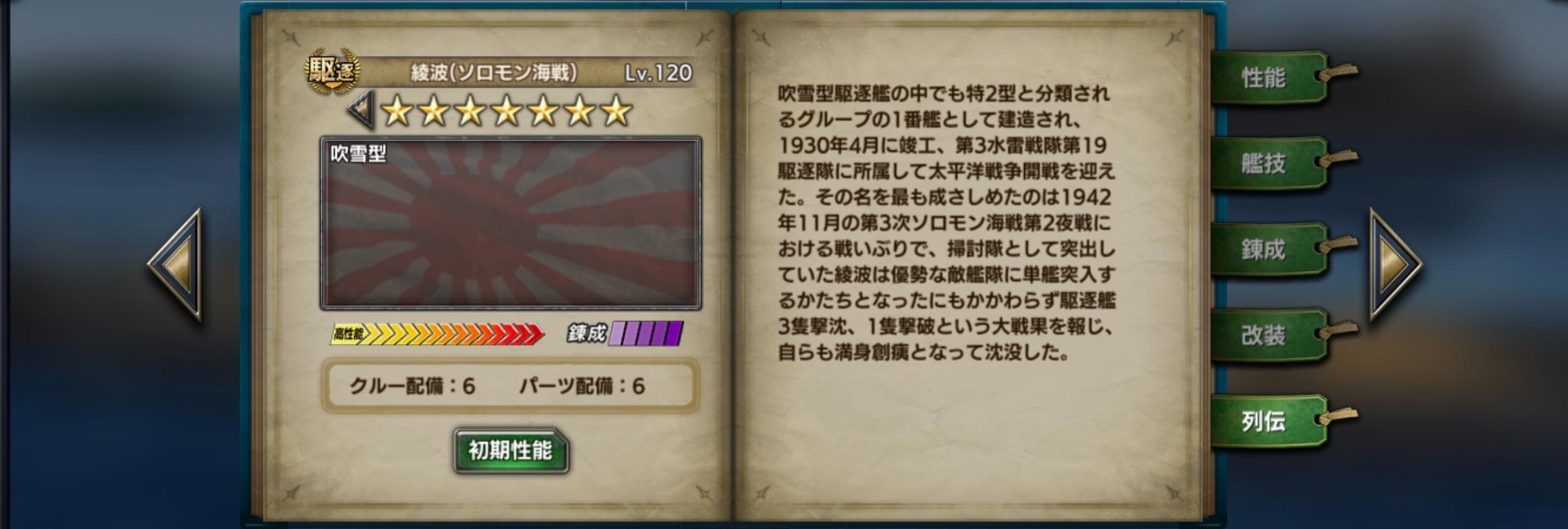 AyanamiS-history