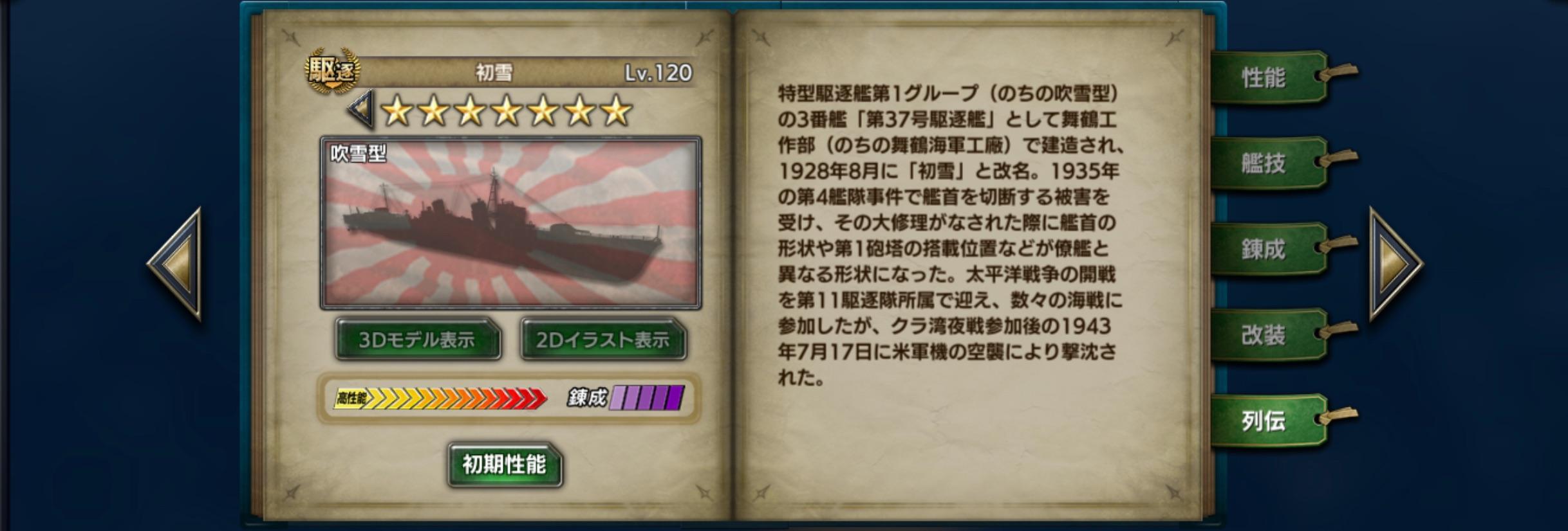 Hatsuyuki-history