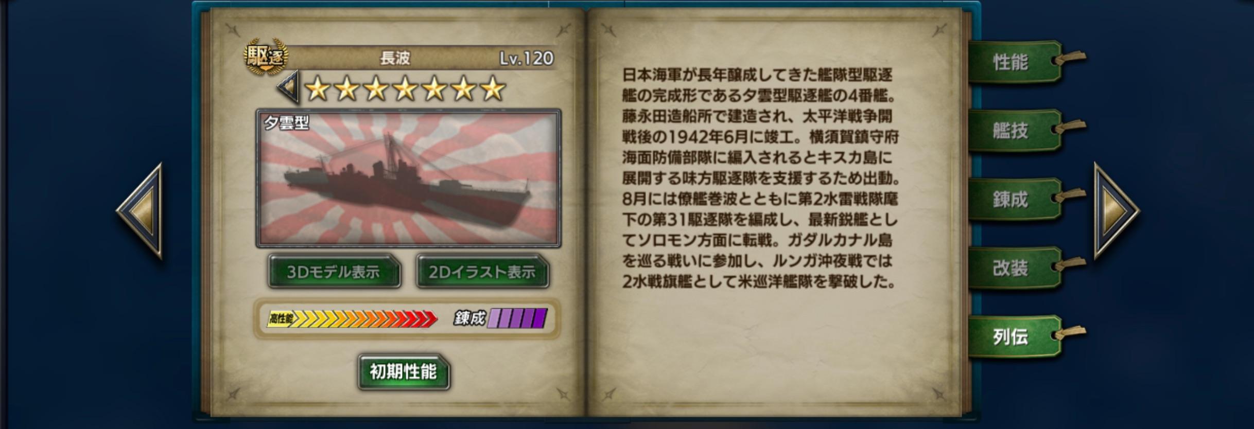 Naganami-history