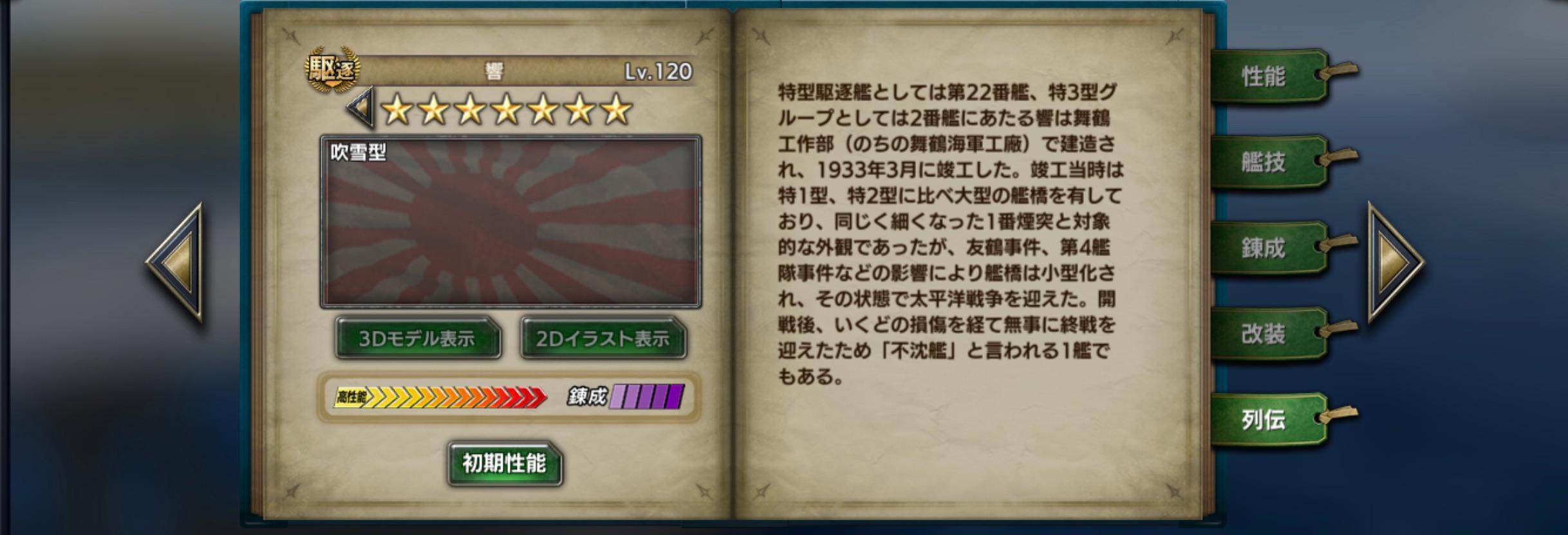Hibiki-history