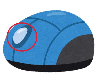 マウスのホイールボタン