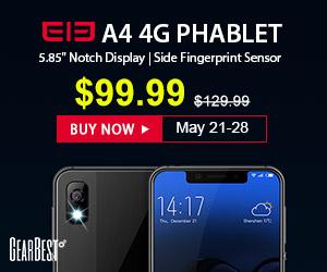 新製品<Elephone A4>が$99.99!(約11,000円)