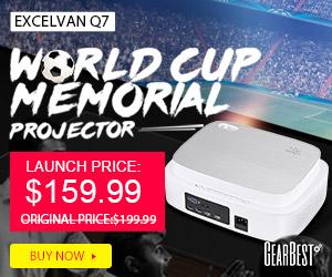 新製品<Excelvan Q7>$159.99!(約17,600円)
