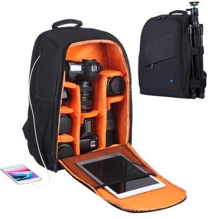 PULUZ Outdoor Backpack Portable Waterproof Bag for DSLR Camera