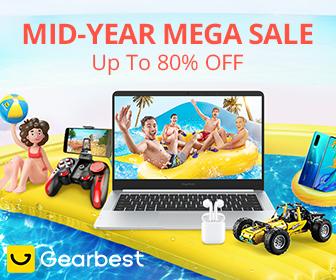 GearBestスーパーセール「Mid Year Mega Sale」会場
