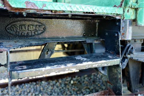 ライカqで撮影。電車(汽車)