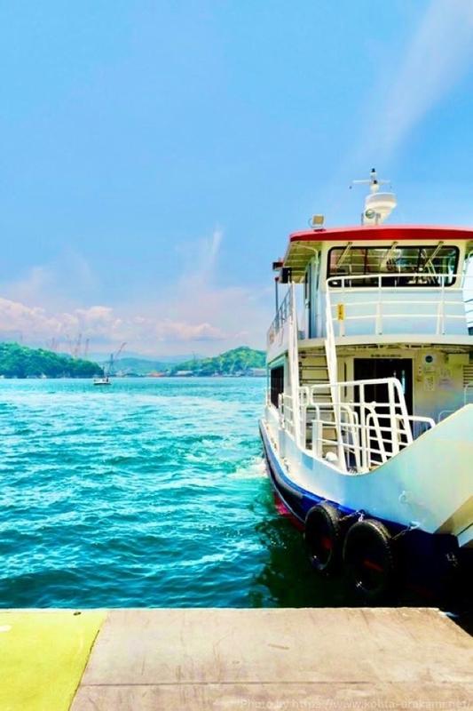 小島行きの船