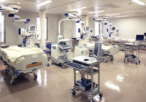 集中治療室にいる期間で感染率が...