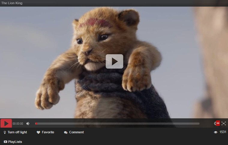 The Lion King 2019 Movie And Trailler