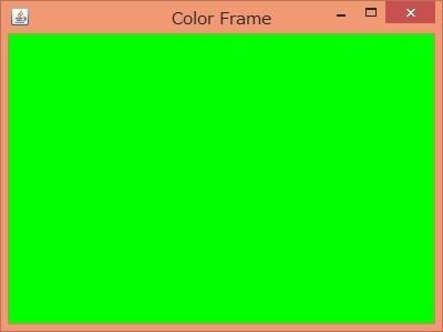 表示されるフレーム3・緑