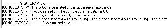 TCP/IPのテスト