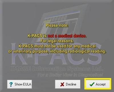 K-PACSの起動