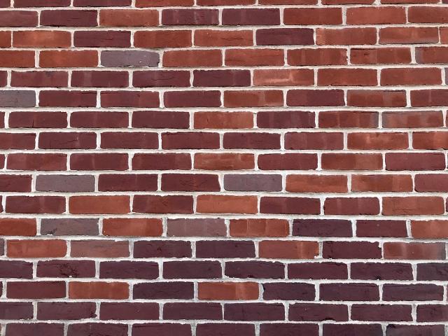ボストンのレンガ壁