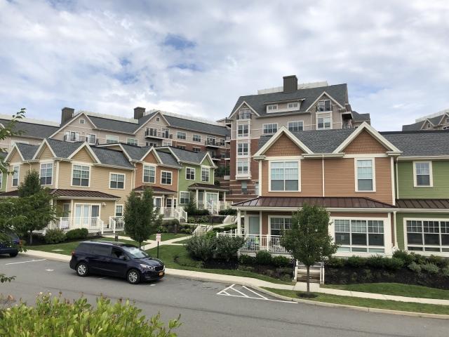 アメリカの集合住宅