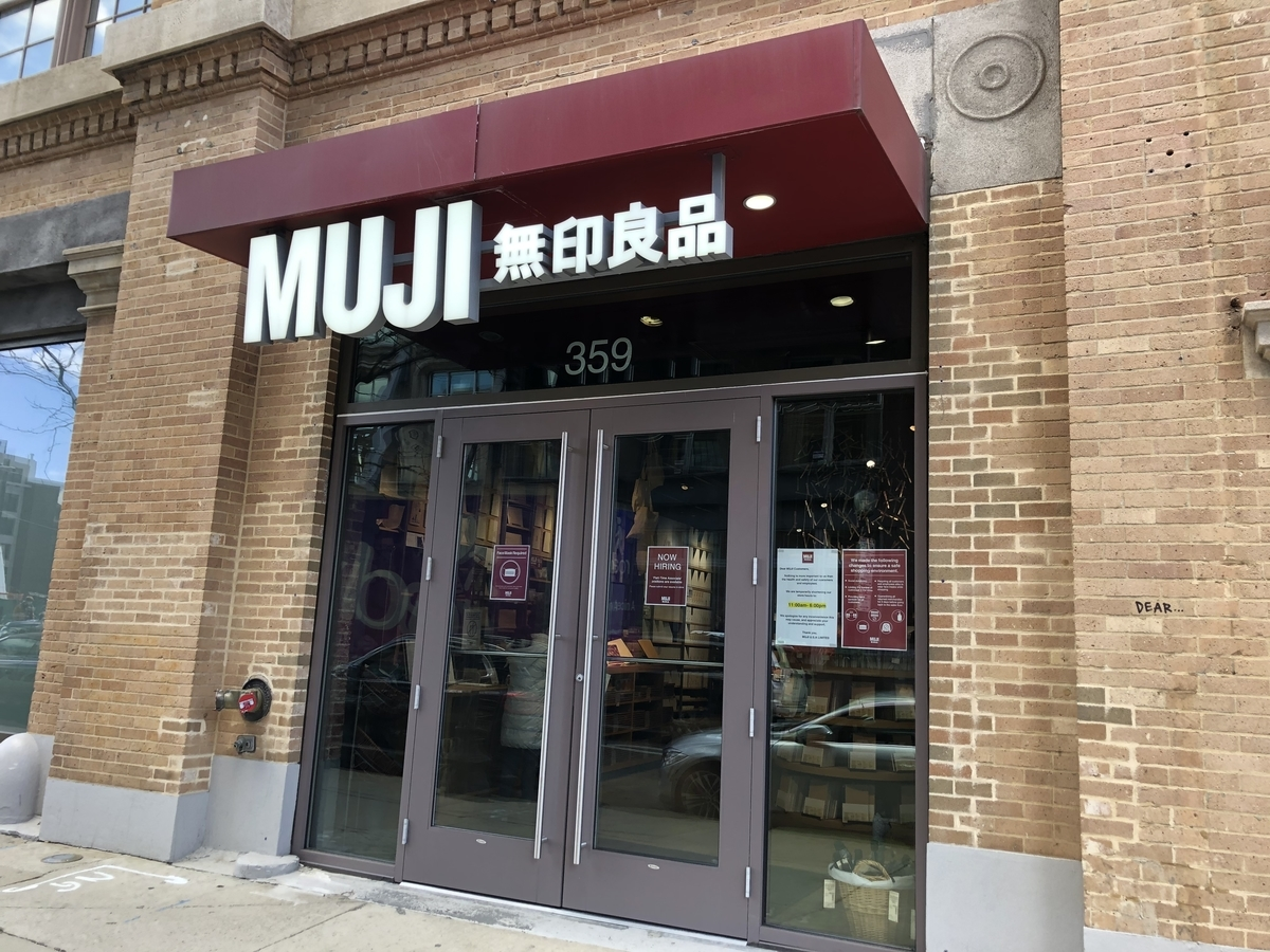 MUJIの店舗