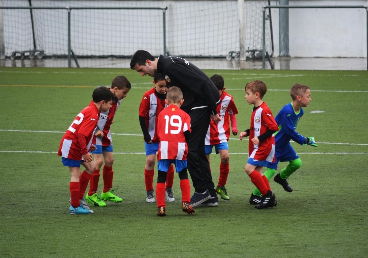 外国人の子供のサッカーチーム