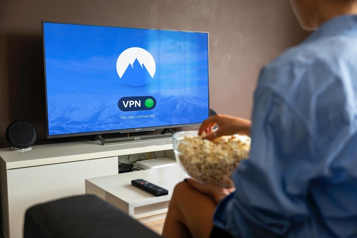 VPNを使ってテレビを観る