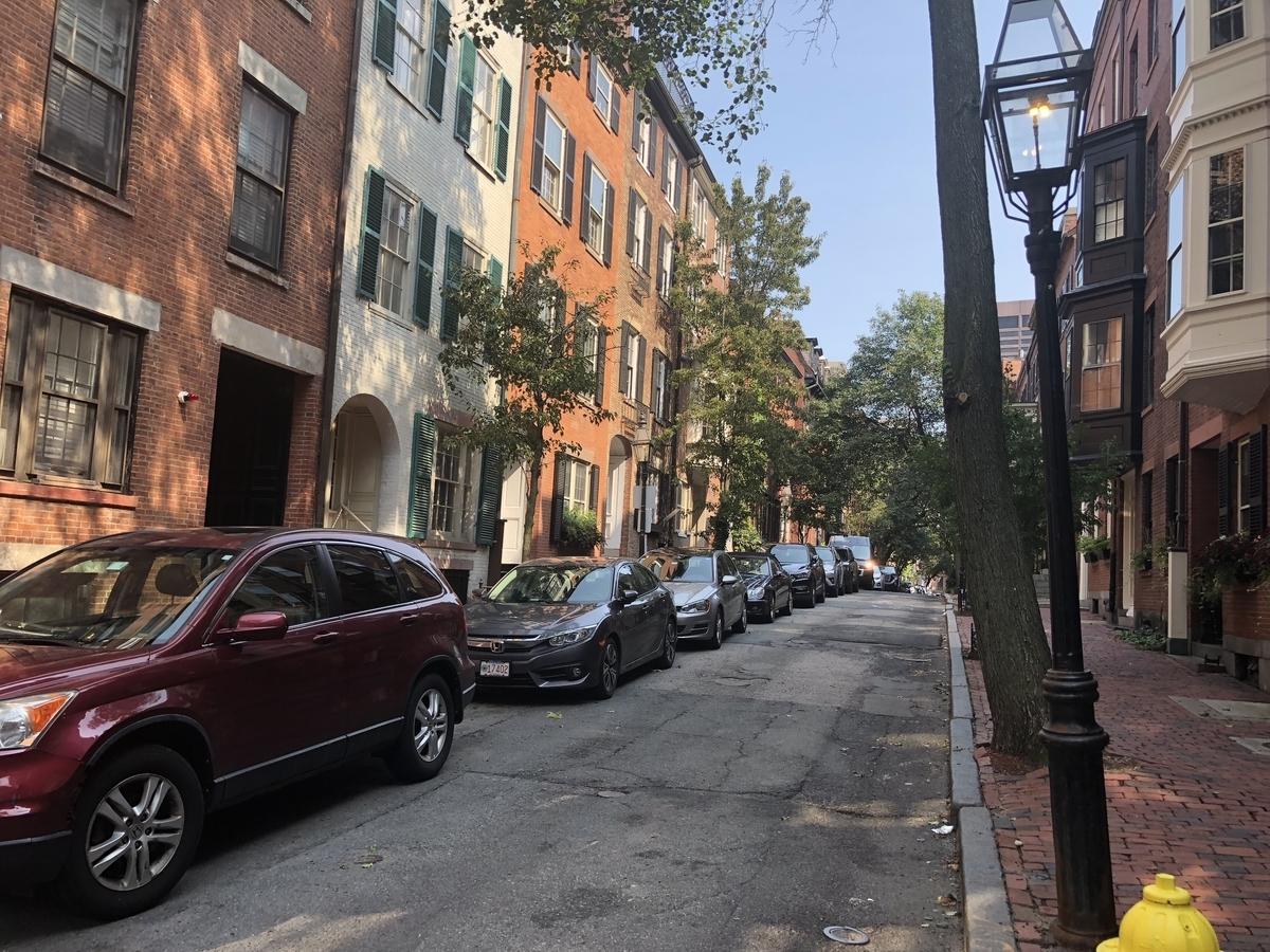 ボストンの路上駐車アプリ