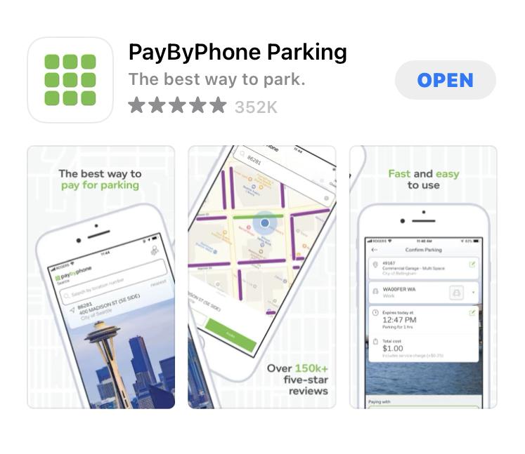 ボストンの駐車料金アプリ