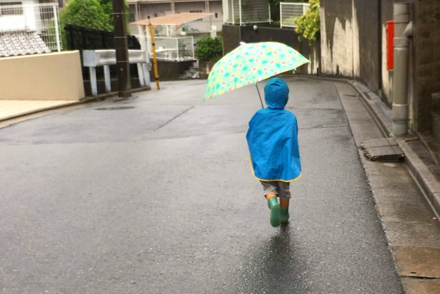 子供の雨具・長靴