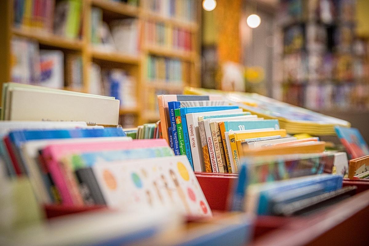 アメリカ現地校の図書室