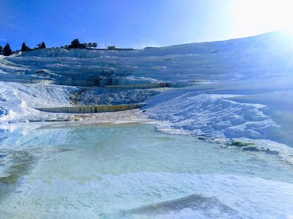 パムッカレ石灰棚の絶景