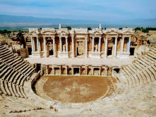 円形ローマ劇場