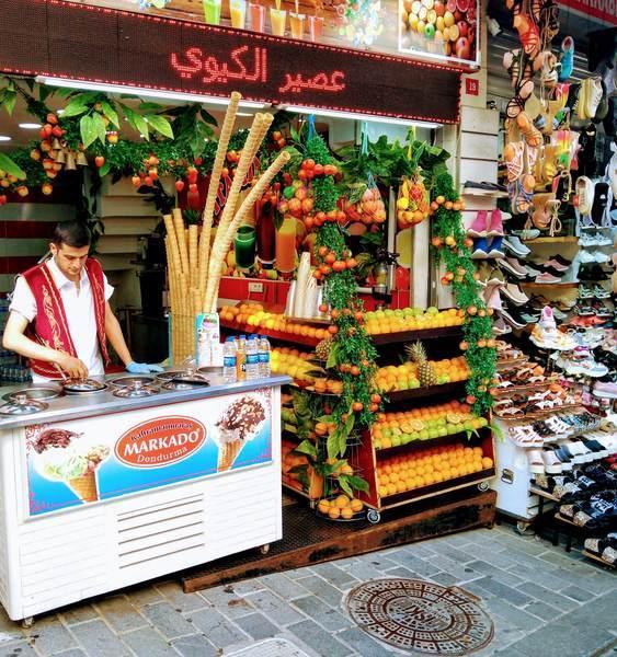イスタンブール トルコアイス店