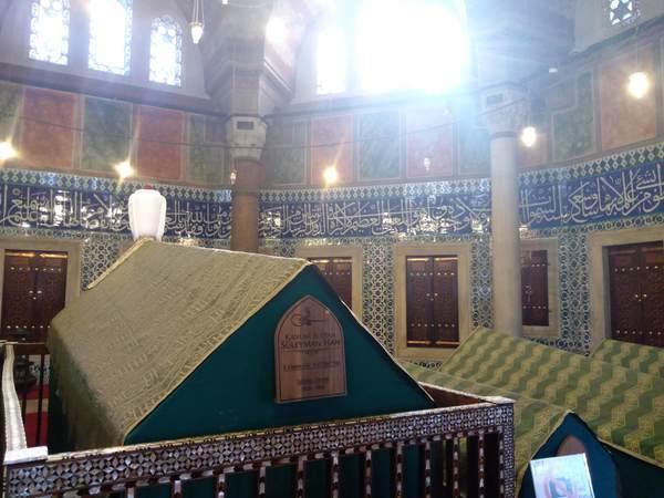 イスタンブール スレイマニエ・モスク スレイマン一世