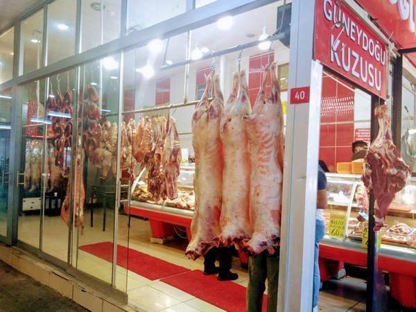 トルコ イスタンブール 精肉店
