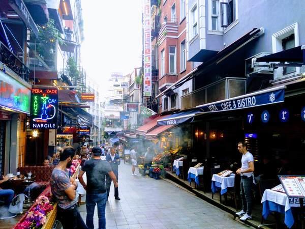 イスタンブール イスティクラル通り