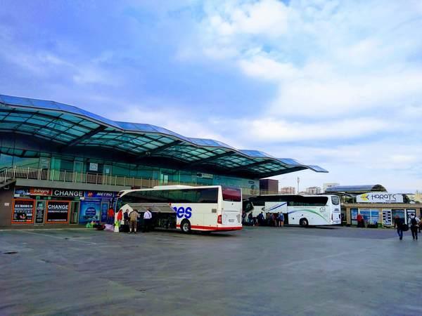 ブルガリア セルディカ・バスステーション