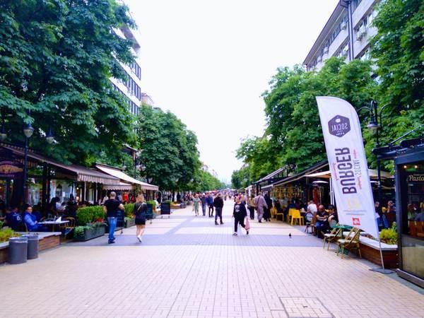 ブルガリア ヴィトシャ通り(Vitosha Boulevard)