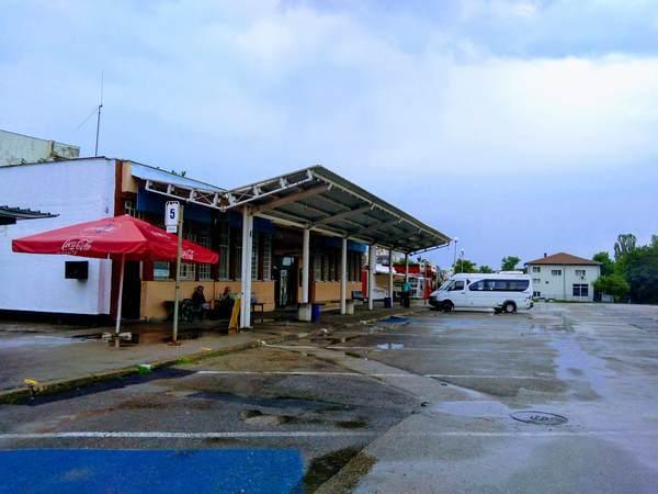 リラ修道院 バスターミナル