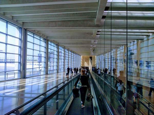 イスラエル空港(到着後)