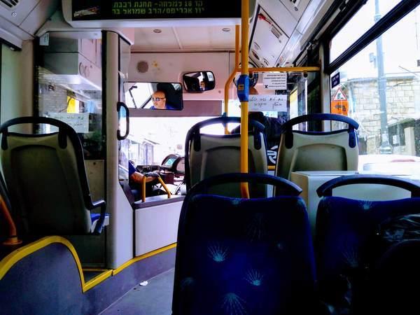 エルサレムの路線バス