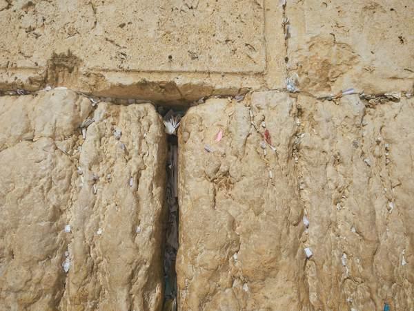嘆きの壁の石