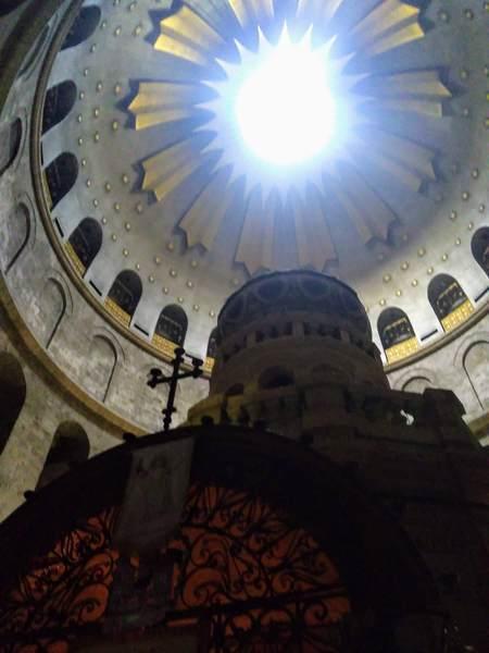 キリストの墓の天井